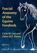 obrázek zboží Fascial Anatomy of the Equine Forelimb