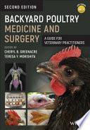 obrázek zboží Backyard Poultry Medicine and Surgery: A Guide for Veterinary Practitioners, 2nd Edition