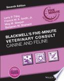 obrázek zboží Blackwell's Five-Minute Veterinary Consult: Canine and Feline, 7th Edition